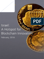 Israel a Hotspot for Blockchain Innovation