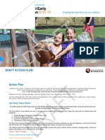 Draft version of the Greater Bendigo Municipal Early Years Plan 2015 -18.