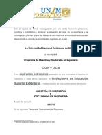 Convocatorias BECAS 2017-1 Para Extranjeros en La UNAM
