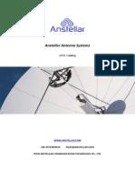 Anstellar Vsat Antenna TVRO Antenna Flyaway Antenna SNG Antenna Products Catalog