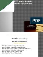 BIS 155 papers Absolute Tutors / bis155papers.com