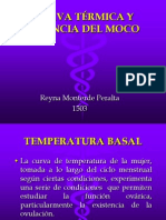 CURVA TÉRMICA Y FILANCIA DEL MOCO