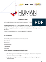 Constitution of Human