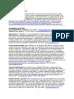 CAP Quarterly News - Oct 2010
