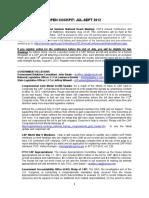 CAP Quarterly News - Jul 2012