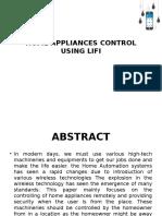 Home Appliances Control Using Lifi
