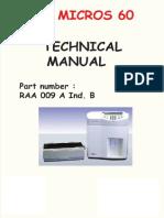 Horiba ABX Micros 60 Technical Manual