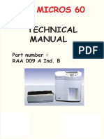 Horiba ABX Micros 60 Technical Manual