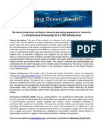 Mapping Ocean Wealth Australia EOI