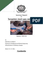 Seminar Report TIG