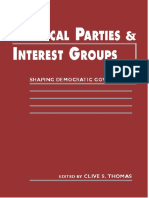 [Clive S. Thomas] Political Parties and Interest Group