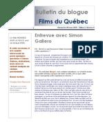 Bulletin Films Du Quebec Vol2 No4