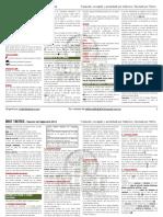 Dust Tactics 2014 - Resumen de Reglas - EsP