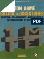 Béton Armé Calcul Des Ossatures
