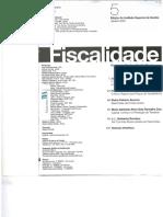 O Princípio da tributação do rendimento real e a Lei Geral Tributaria, de José Xavier de Basto - Fiscalidade 5 janeiro 2001