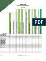 Prepare Progress Chart