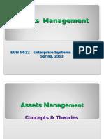 Assets Management Lab