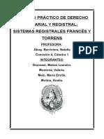 TP Sistemas Notariales Francés y Torrens