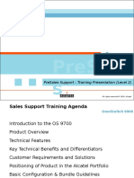 OS9000 PreSales Support Training 16nov05