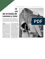 160315 La Verdad- Localzian 118 Fotos Robadas de La Boda de Lennon y Ono