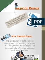 Inbox Blueprint Bonus