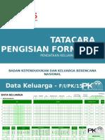 TATACARA PENGISIAN FORMULIR PK 2015