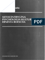 Mitocentryczna psychologia kulturowa Ernesta Boescha