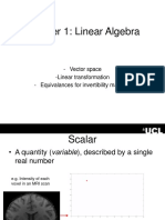 Review of Linear Algebra (1)