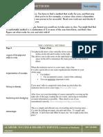 1Five Methods of Notetaking 2015