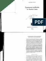 Foxley. Experimentos neoliberales en América Latina