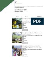 International Programmes - DAAD - Deutscher Akademischer Austausch Dienst1