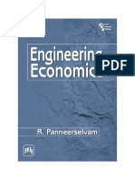 Engineering Economics by Paneersrelvam