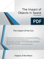 the impact of objects in space sm