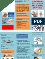 Leaflet Typhoid