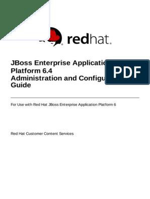 JBoss Enterprise Application Platform-6 4-Administration and