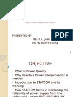 Reactive Power Compensation using STATCOM