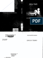 F. M. MARZOA - Lengua y Tiempo