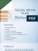 social media plan - velykis