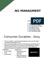 Retailing Management_Group 15