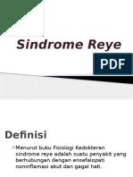 Sindrome Reye
