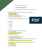 Evaluación diágnostica