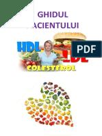 Colesterol Ghid Pacienti