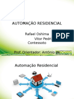 Apresentação automação residencial