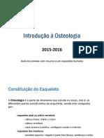 Aula 2 - Introducao a Osteologia