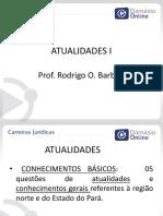 Atualidades - Aula 1