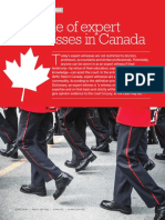 The Role of Expert Witnesses in Canada_ACAMS Today_March-May2016