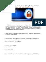 Cara Membuka Mesin Absensi Yang Terkunci Admin