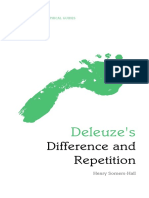 Henry Somers-Hall-Deleuze's Difference and Repetition