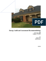 Kearney Residence Energy Audit