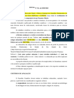 Modelo de Edital - RPCrim